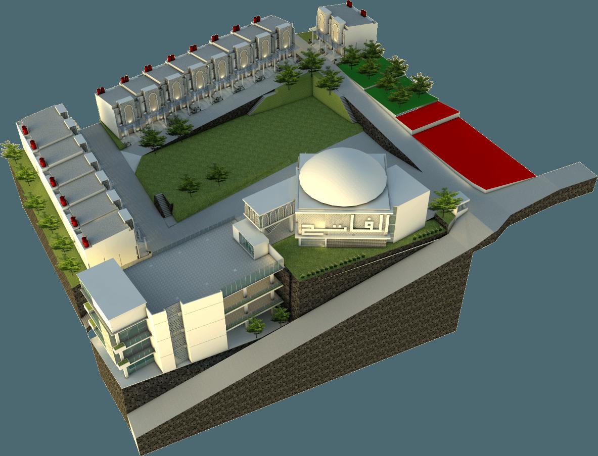 Zoelsitektur Kuttab Al Fatih  Mangunharjo, Tembalang, Semarang City, Central Java, Indonesia Mangunharjo, Tembalang, Semarang City, Central Java, Indonesia S1  33189