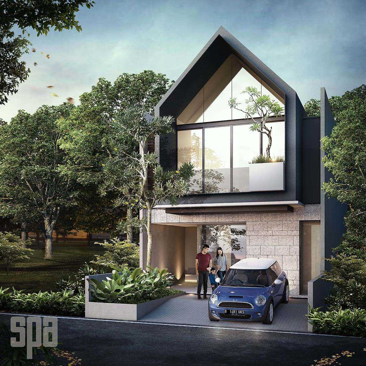 Simple Projects Architecture 'hhh' House Surabaya, Kota Sby, Jawa Timur, Indonesia  Exterior View Tropical 50378