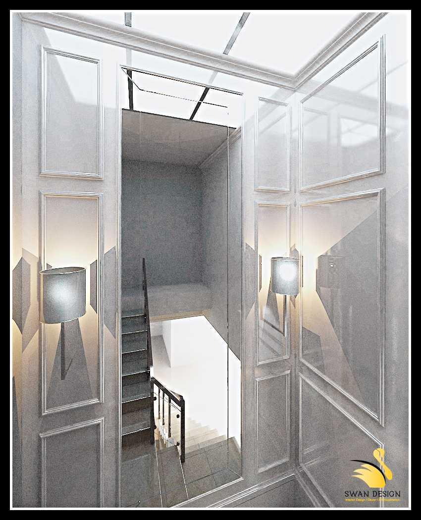 Foto inspirasi ide desain tangga klasik Staircase-area oleh SwanDesign di Arsitag