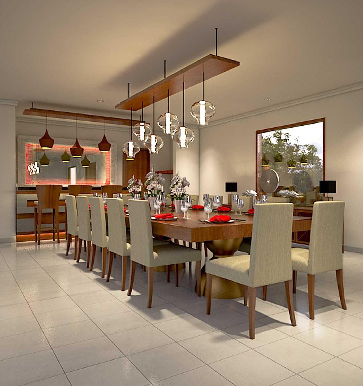 Foto inspirasi ide desain ruang makan skandinavia Diningroom oleh Bagus sakabhaskara di Arsitag