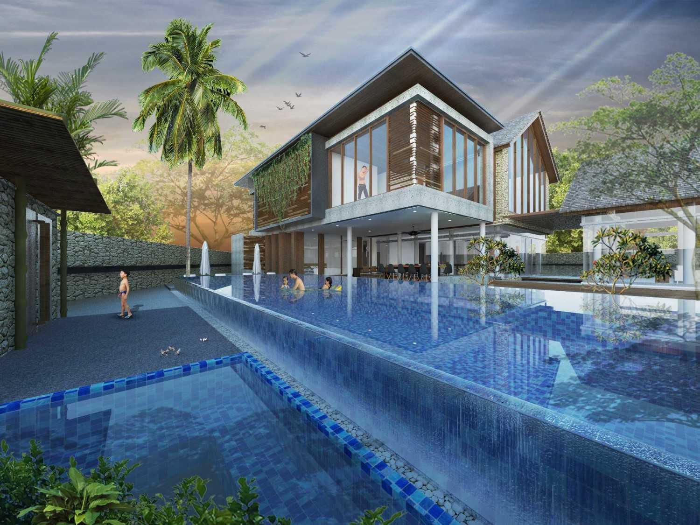 Angkasa Architects Gisela House Serpong Serpong Pool View  20443