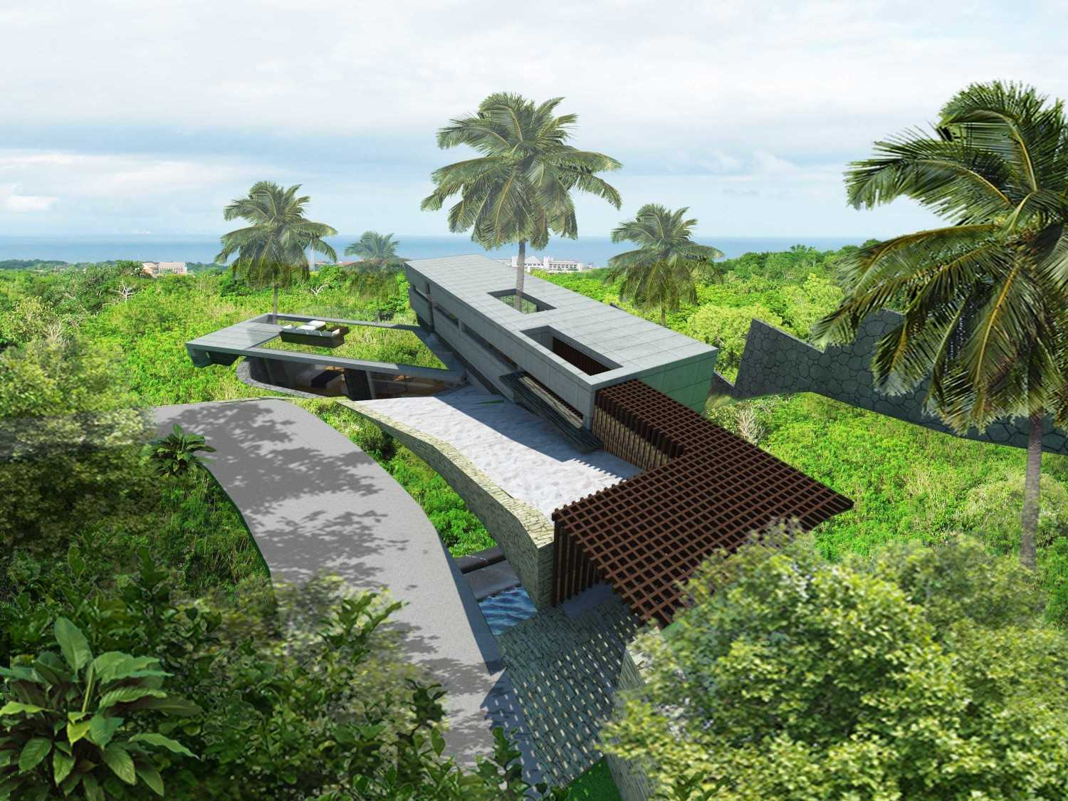 Angkasa Architects G Villa & Resorts Bali Bali Bird Eye View  20506