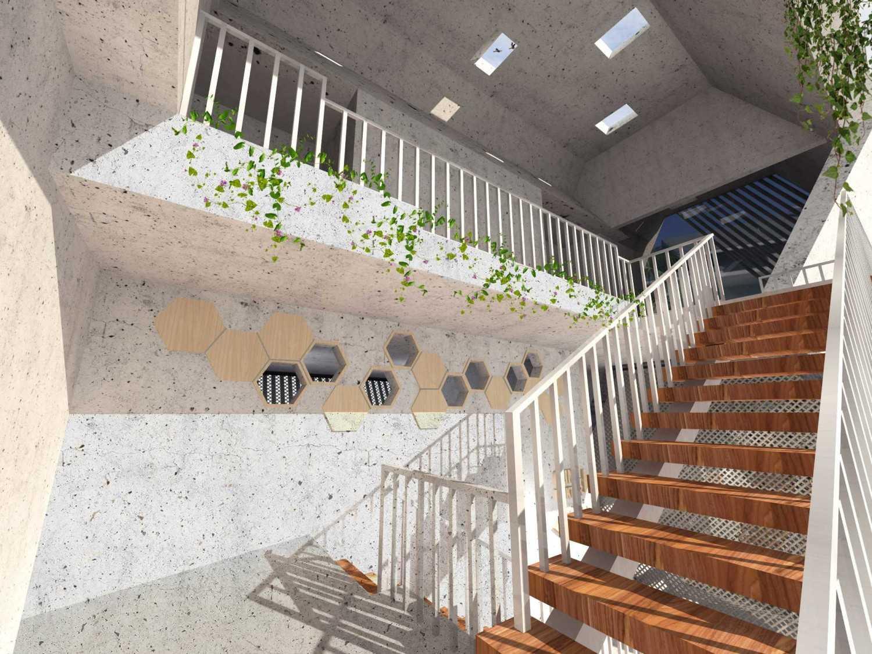 Angkasa Architects Bee Doctor Pekanbaru Pekanbaru Stairs  20507
