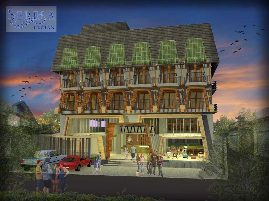 Melly Purnamahildha Tarman Grand Serela Legian Hotel Legian, Bali Legian, Bali Front View  20461