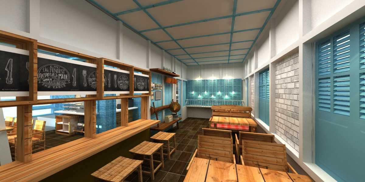 Wish Interior+Architects Oldies Restaurant Pekanbaru Pekanbaru Dining Area  20612