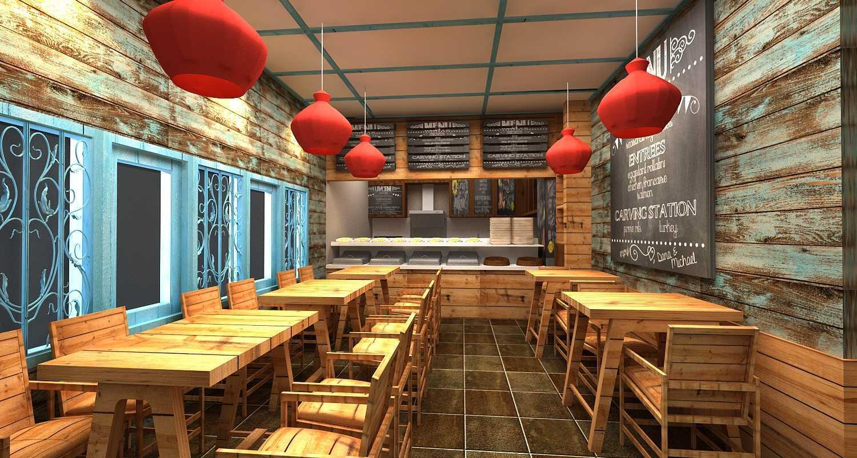 Wish Interior+Architects Oldies Restaurant Pekanbaru Pekanbaru Dining Area  20614