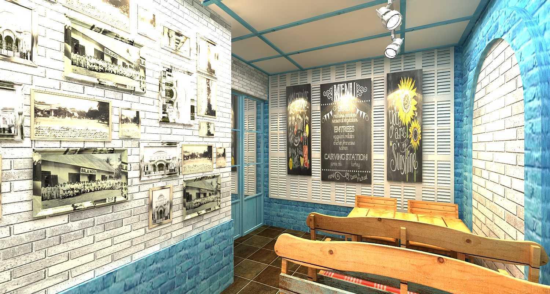 Wish Interior+Architects Oldies Restaurant Pekanbaru Pekanbaru Wall Decoration  20616
