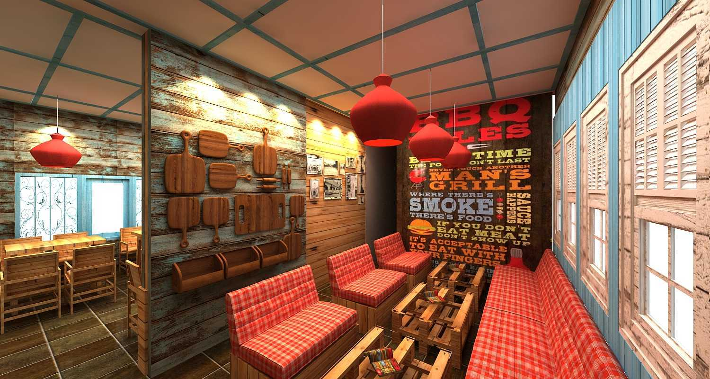 Wish Interior+Architects Oldies Restaurant Pekanbaru Pekanbaru Seating Area  20617
