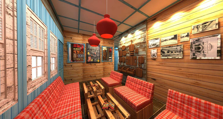Wish Interior+Architects Oldies Restaurant Pekanbaru Pekanbaru Seating Area  20618