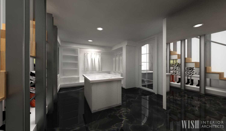 Wish Interior+Architects Bedroom  Pekanbaru, Riau Pekanbaru, Riau Wardrobe Storage  20627