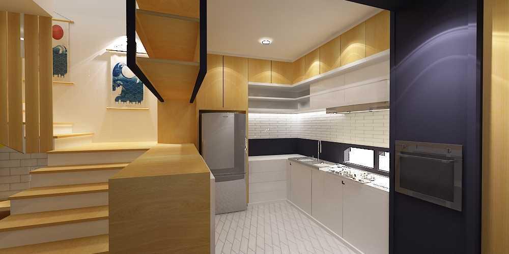 Wish Interior+Architects M House Pekanbaru Pekanbaru Kitchen Area  28267