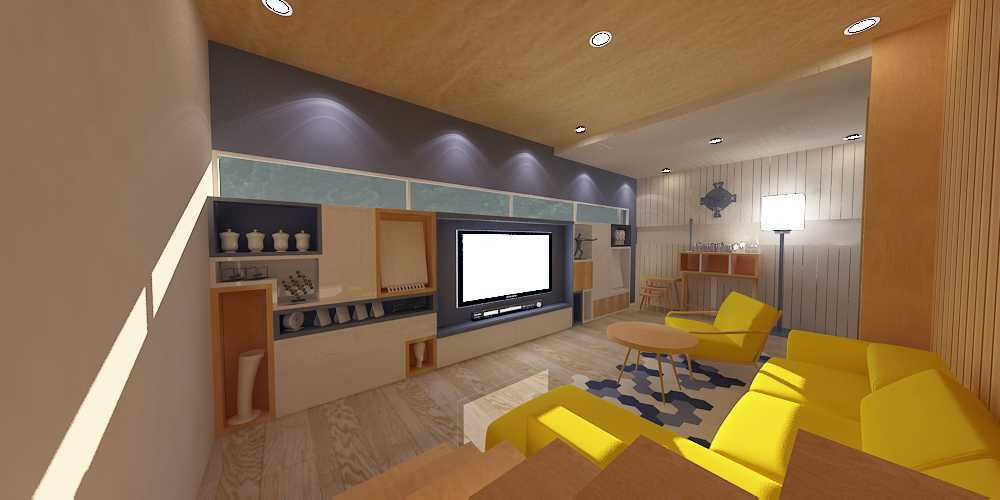 Wish Interior+Architects M House Pekanbaru Pekanbaru Livingroom  28269