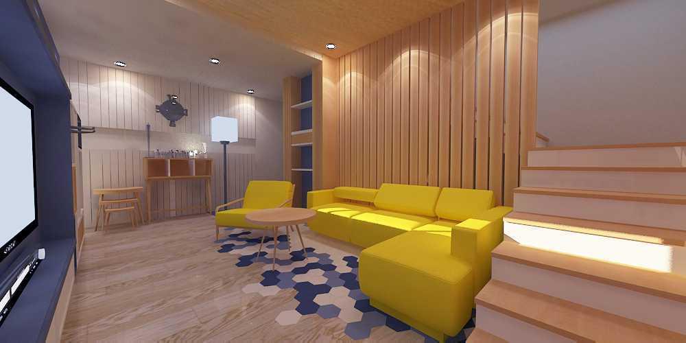 Wish Interior+Architects M House Pekanbaru Pekanbaru Livingroom  28271
