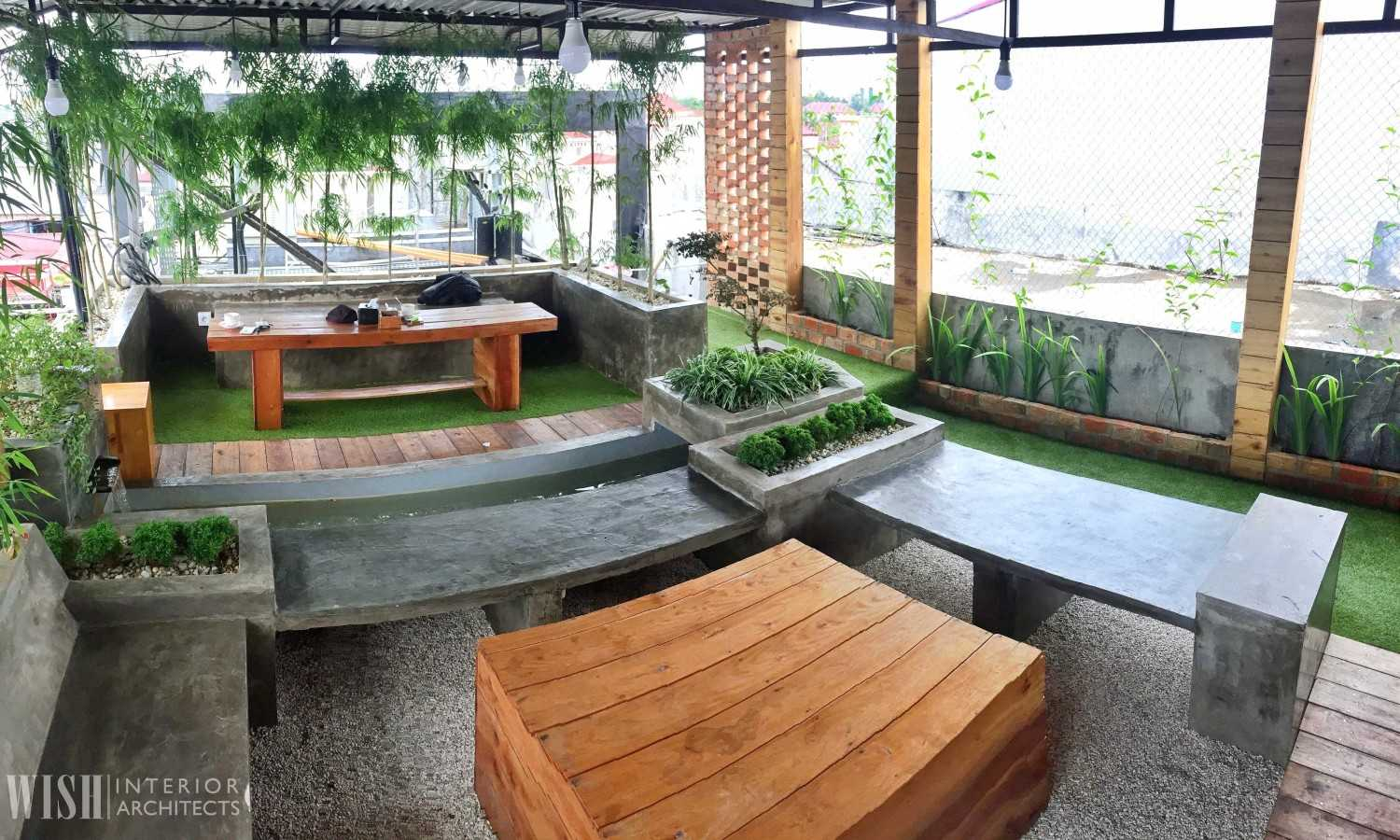 Wish Interior+Architects V Rooftop Garden Pekanbaru Pekanbaru Rooftop Area  28290