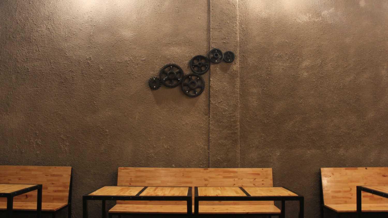 Wish Interior+Architects Volks Koffie Pekanbaru Pekanbaru Wall Decoration  28298