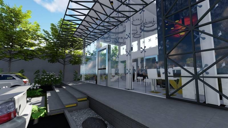 Samitrayasa Lavish Kemang Marketing Galery Kemang Raya No.78A Kemang Raya No.78A Entrance Door  722
