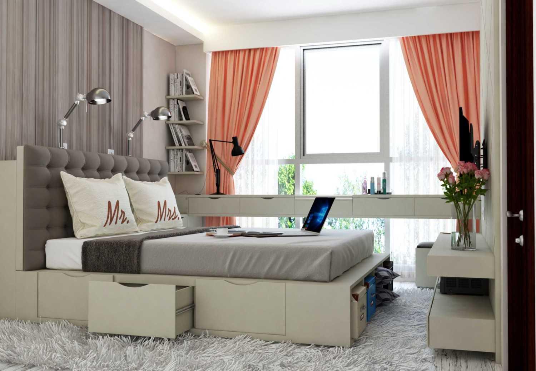 Tridivan Architama An's Apartment Jakarta, Indonesia Jakarta, Indonesia Master Bedroom Modern 20705