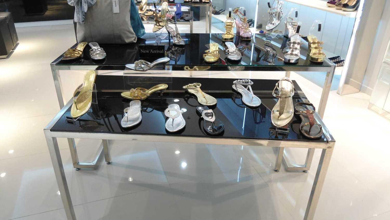 Canvas Mkc Noche Store Solo Square - Solo Solo Square - Solo Shoes Display Modern 21085