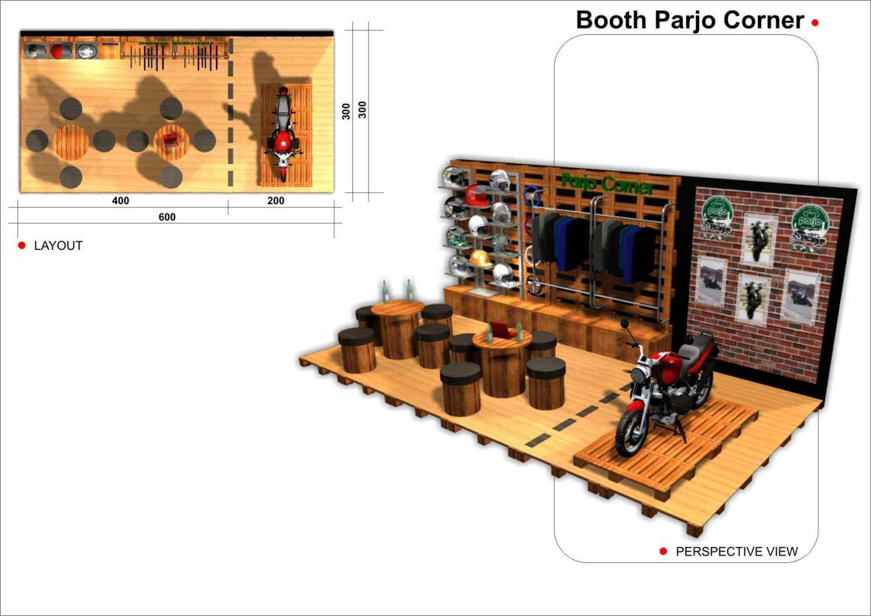 Foto inspirasi ide desain display area industrial Layout plan oleh Canvas MKC di Arsitag