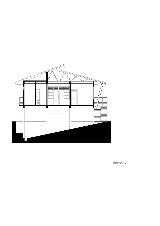 Nawabha Ciwidey Stilts House Ciwidey, Bandung, West Java, Indonesia Ciwidey, Kab. Bandung Potongan-B  24694
