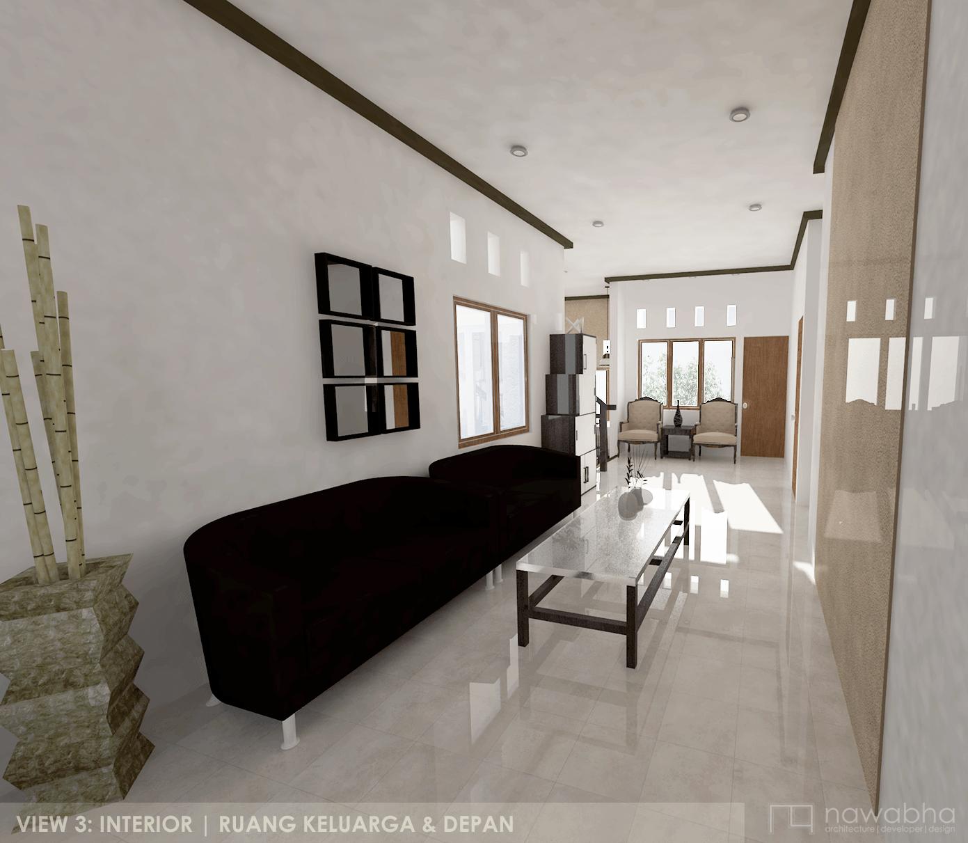 Nawabha Griya Asri Cipageran - Family House Cimahi, Bandung Cimahi, Bandung View-3-Interior-1-Revisi Modern 24951