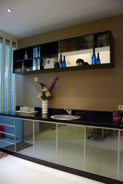 Andre Sutanto Mezzanine 2.5 Storey House San Diego Pakuwon City San Diego Pakuwon City Pantry Modern 25549