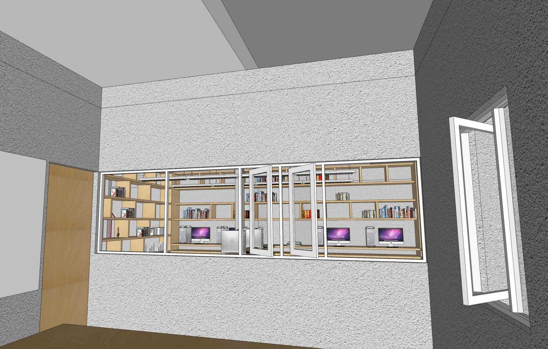 Foto inspirasi ide desain ruang meeting tropis Management room + meeting room oleh RUPAKARA AKARSANA di Arsitag
