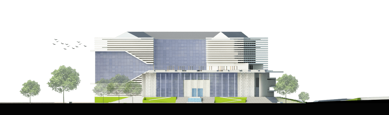 Astabumi Architect & Interior Design Fakultas Hukum Universitas Islam Indonesia Yogyakarta Yogyakarta Tampak-2  21385