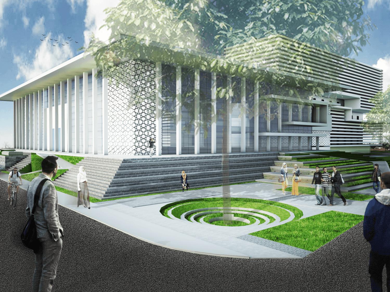 Astabumi Architect & Interior Design Fakultas Hukum Universitas Islam Indonesia Yogyakarta Yogyakarta Depan  21388