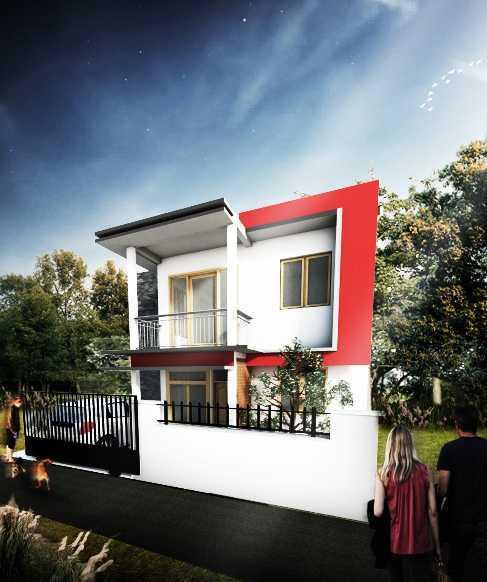 Astabumi Architect & Interior Design Rumah 2 Lantai Modern Minimalis Yogyakarta Yogyakarta Front View Modern 21421