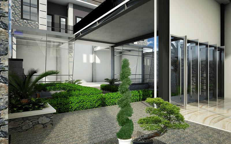 Artelier Rumah Suluh Medan Medan Taman Modern 21889
