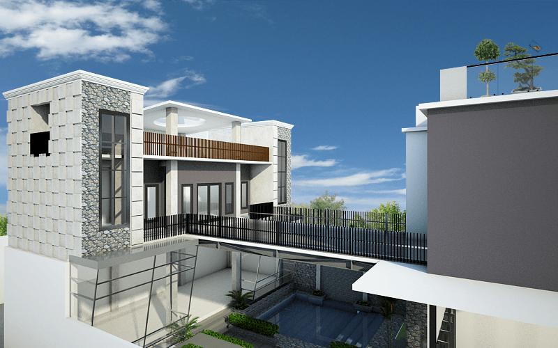 Artelier Rumah Suluh Medan Medan 2Nd Floor View Modern 21890