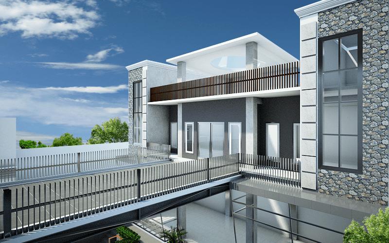 Artelier Rumah Suluh Medan Medan 2Nd Floor View Modern 21891
