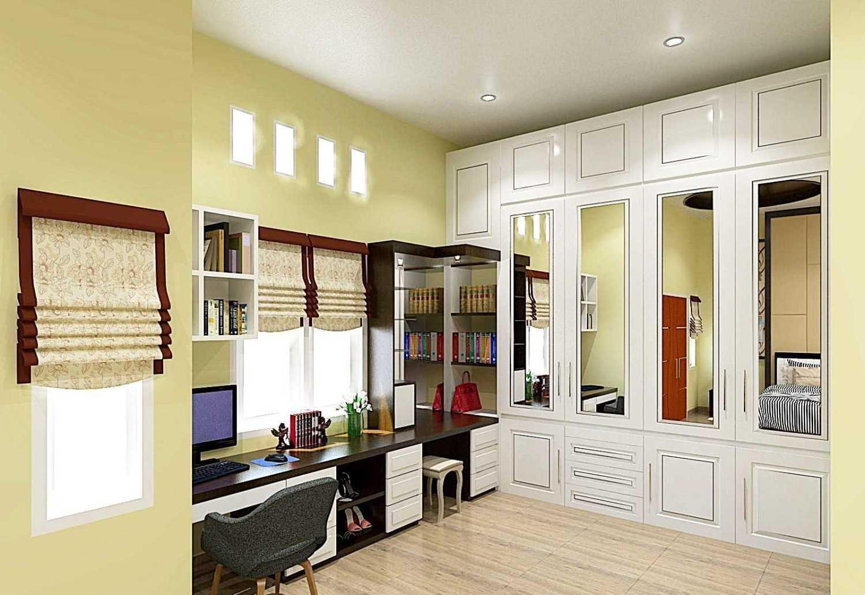 Foto inspirasi ide desain ruang belajar minimalis Bedroom oleh ARTELIER di Arsitag