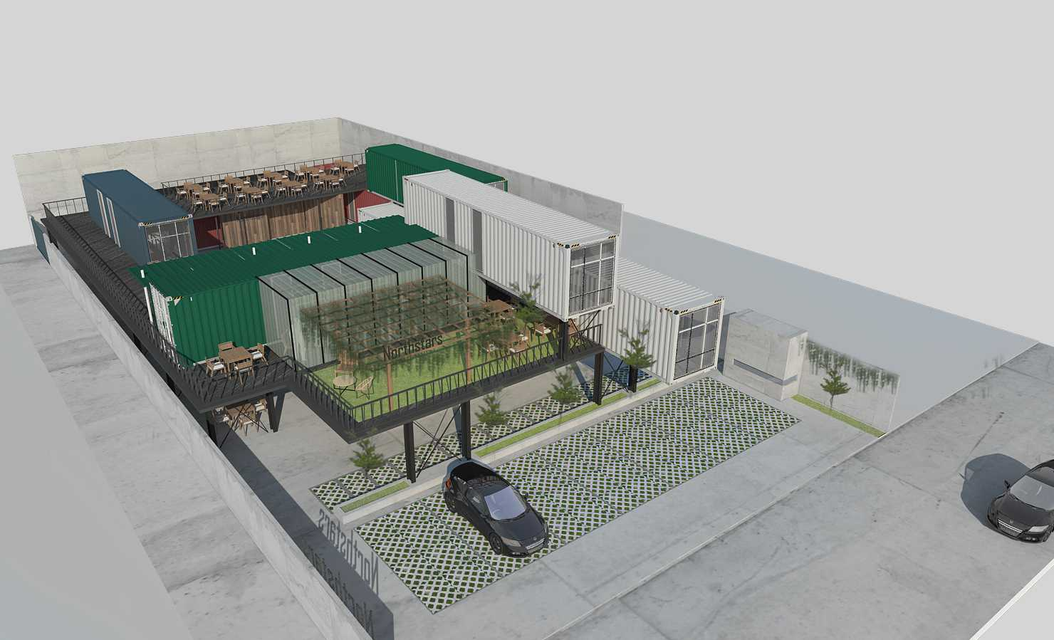 Braun Studio Northstars Cafe Medan Jl. Jamin Ginting, Padang Bulan, Medan Baru, Kota Medan, Sumatera Utara 20157, Indonesia Medan Sisingamangaraja Bird Eye View Industrial 25852