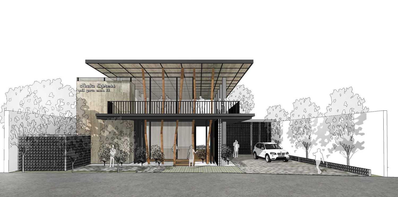 Braun Studio Shabu Express Restaurant  Samarinda, Samarinda City, East Kalimantan, Indonesia Tampak-Depan Tropis,modern 30398