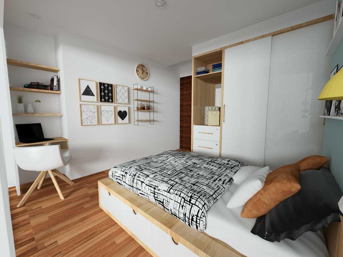 Alima Studio Apartment Satu8 Kedoya Selatan, Jakarta, Indonesia Kedoya Selatan, Jakarta, Indonesia Bedroom Skandinavia 21271