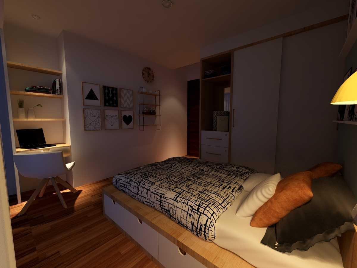 Alima Studio Apartment Satu8 Kedoya Selatan, Jakarta, Indonesia Kedoya Selatan, Jakarta, Indonesia Bedroom - Night Skandinavia 21272
