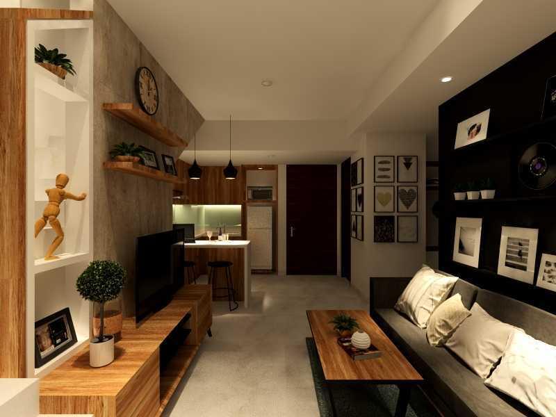 Alima Studio Apartment Satu8 Kedoya Selatan, Jakarta, Indonesia Kedoya Selatan, Jakarta, Indonesia Living Room Skandinavia 21282
