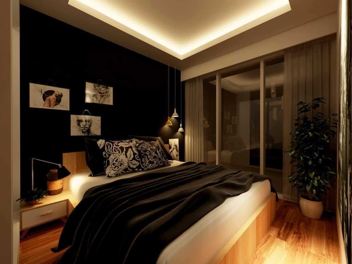 Alima Studio Apartment Satu8 Kedoya Selatan, Jakarta, Indonesia Kedoya Selatan, Jakarta, Indonesia Bedroom - Night Skandinavia 21284
