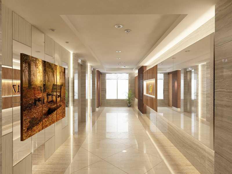 Alima Studio Maqna Residence Meruya, Jakarta, Indonesia Meruya, Jakarta, Indonesia Lift-Lobby-2  21314