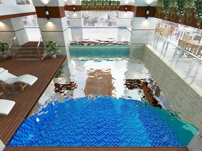 Alima Studio Maqna Residence Meruya, Jakarta, Indonesia Meruya, Jakarta, Indonesia Swimming Pool Area  21326