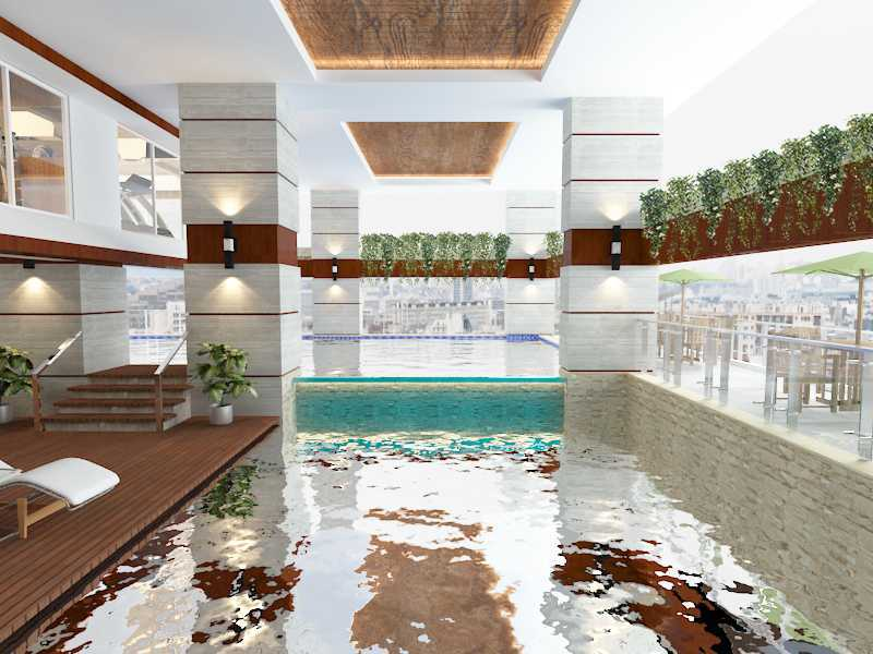 Alima Studio Maqna Residence Meruya, Jakarta, Indonesia Meruya, Jakarta, Indonesia Swimming Pool  21327