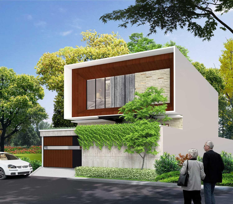 Alima Studio Mr. A's House Jakarta, Indonesia Jakarta, Indonesia Front View Kontemporer,minimalis 27826