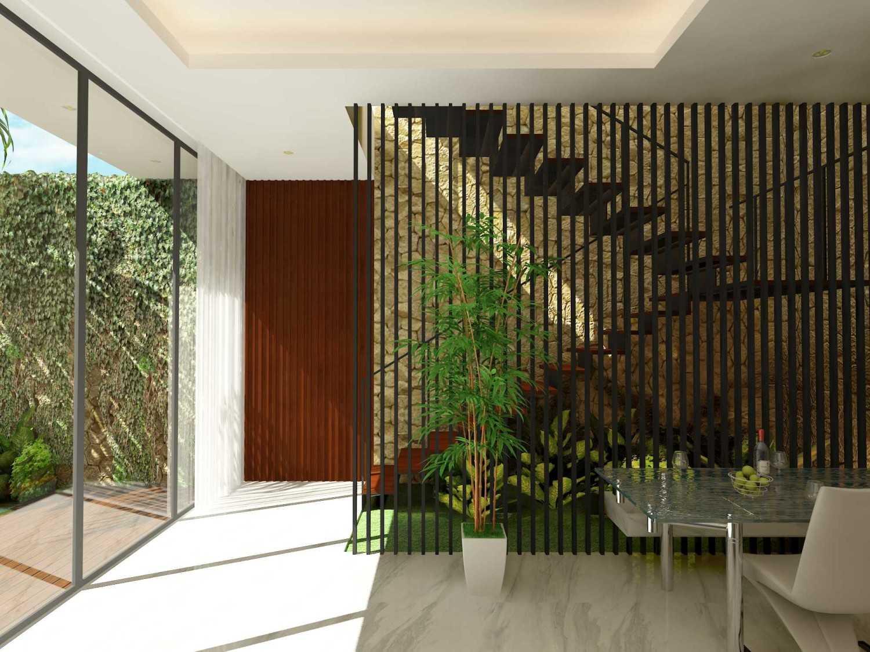 Alima Studio Mr. A's House Jakarta, Indonesia Jakarta, Indonesia Stairs  27833