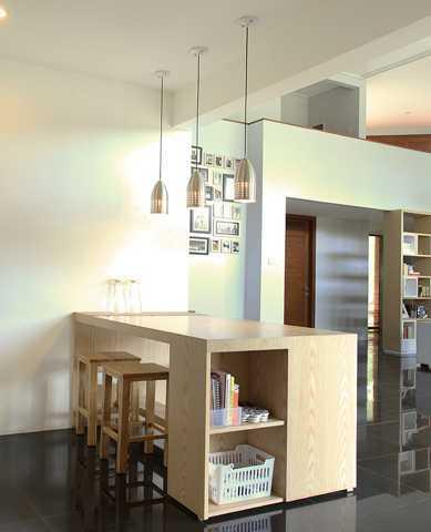 Foto inspirasi ide desain ruang keluarga skandinavia Living-3 oleh Inspace Studio di Arsitag