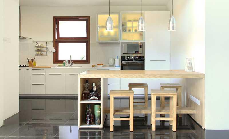 Project P Modern Home desain arsitek oleh Inspace Studio ...