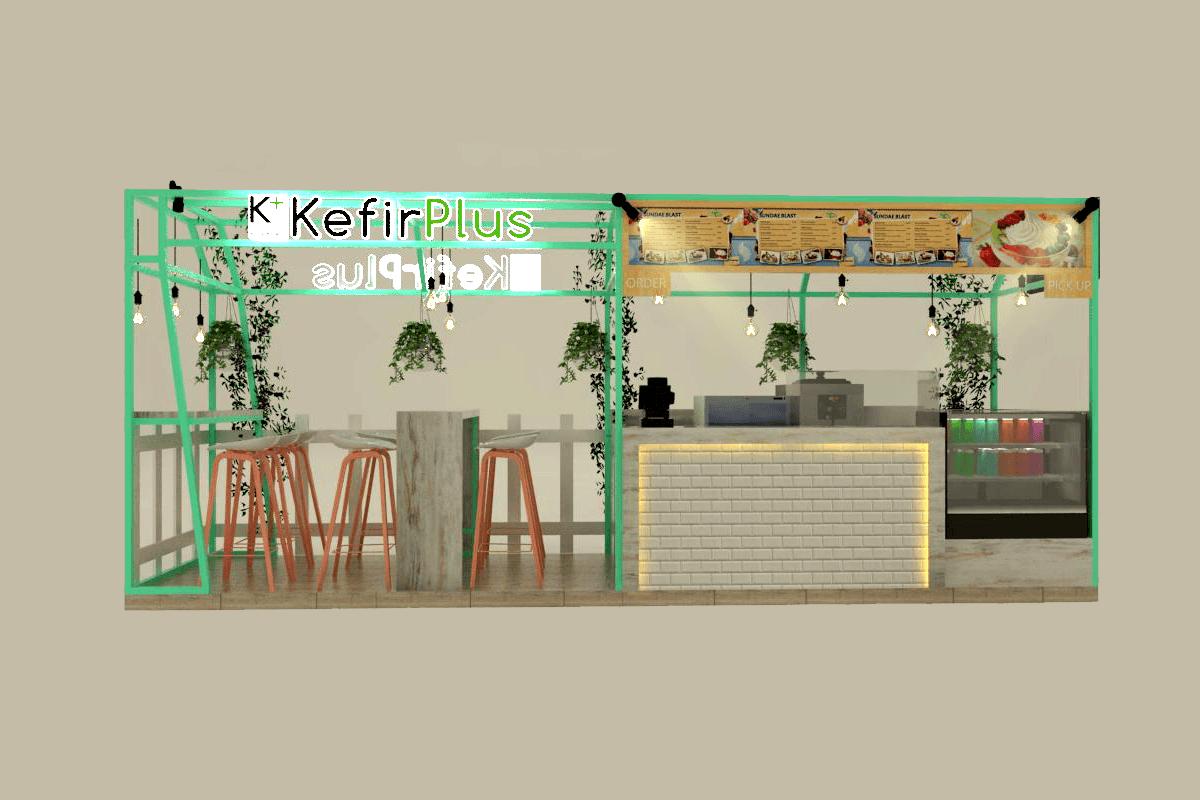 Foto inspirasi ide desain exterior skandinavia Kefir-depan oleh Inspace Studio di Arsitag
