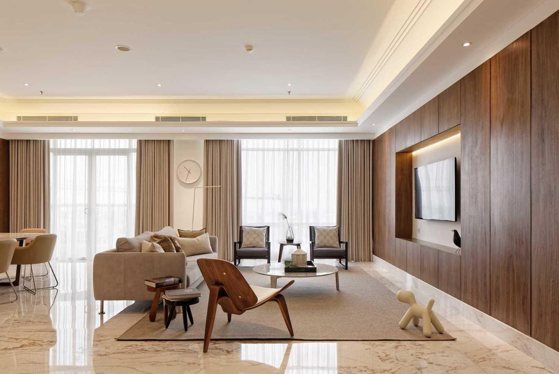 Sontani Partners 11A Residence South Jakarta, Indonesia South Jakarta, Indonesia Living Room Contemporary 21394