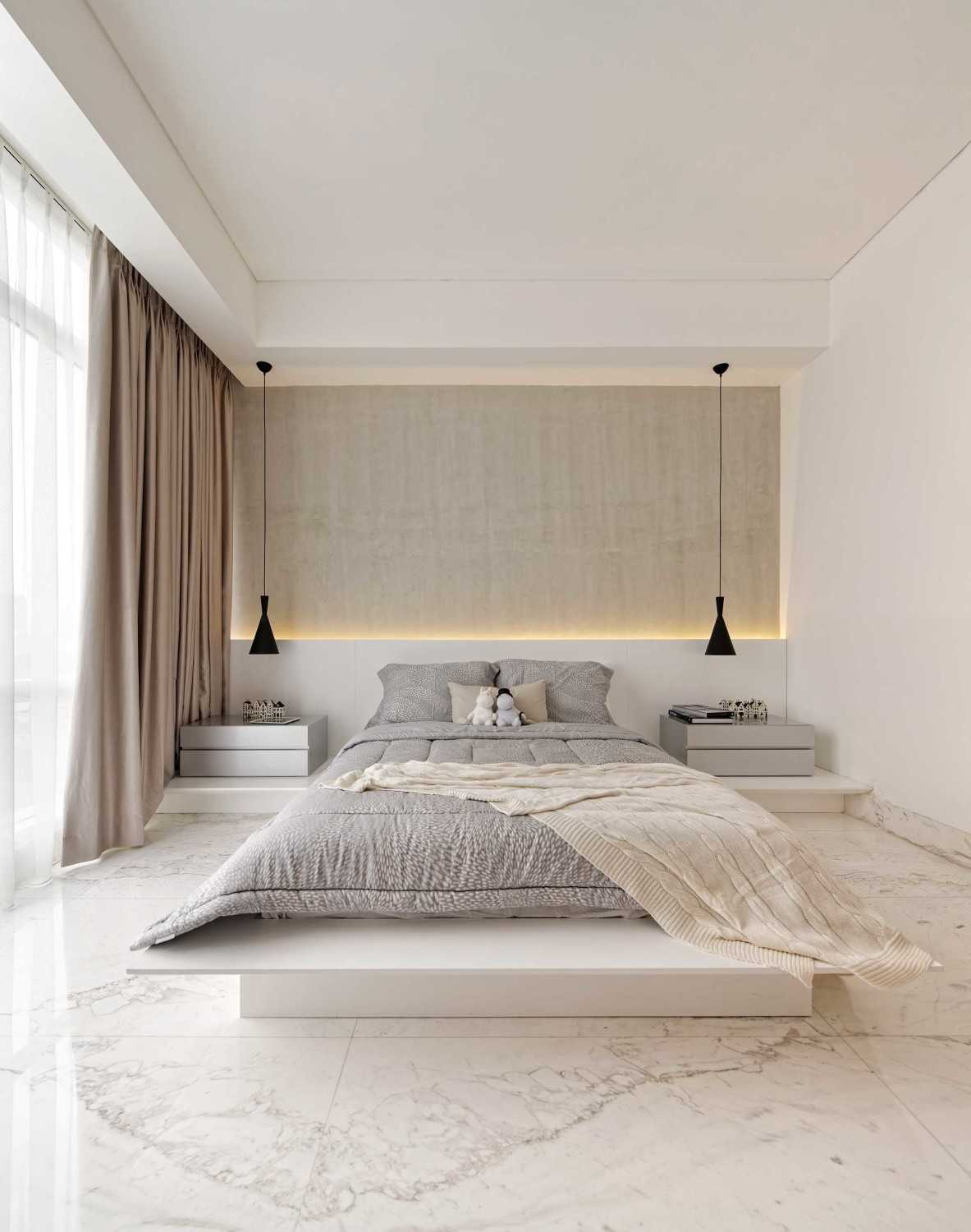 Sontani Partners 11A Residence South Jakarta, Indonesia South Jakarta, Indonesia Bedroom Kontemporer,industrial,wood,modern 21400